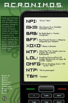 El lenguaje de los mensajes de texto