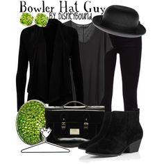 "Meet the Robinsons  ""Bowler Hat Guy"" by lalakay on Polyvore"