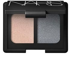 NARS Duo Eyeshadow in Tzarine - use the pale shade all over lid and up onto brow bone and smudge the darker shade into crease