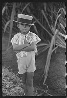Jack Delano Farm boy along the road, Corozal, Puerto Rico, 1941