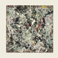 Jackson Pollock 1912 - 1956 NUMBER 12, 1950, signed and dated 50, oil, enamel and aluminum paint on Masonite 22 1/4 x 22 1/4 in.