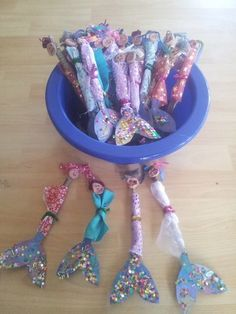 "Stick mermaids & mermen from Musical Experiences For Children ("",)"