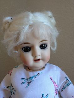 SFBJ 60 ~ Bleuette reproduction doll from ~ LEE FEICKERT - THE LITTLE ONES ~ found @Doll Shops United   http://www.dollshopsunited.com/stores/leefeickert/items/1271085/SFBJ-60-Bleuette #dollshopsunited