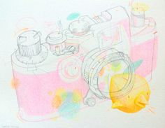 Sketchbook & drawings 2013 by Stephane Tartelin, via Behance
