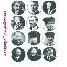 Atatürk saati kalıp-1 #serapogretmen #serapogretmen_etkinlikleri