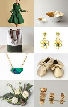 Golden Green  by Marin K on Etsy--Pinned with TreasuryPin.com