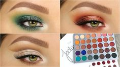 3 Looks 1 Palette | JACLYN HILL X MORPHE - YouTube