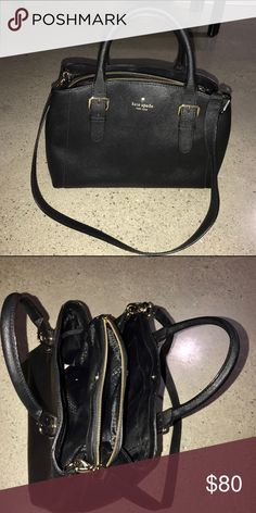 Kate spade Leather purse Center zip inside Shoulder strap kate spade Bags Shoulder Bags