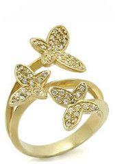Flutter Away Butterfly Ring