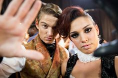 Nico and Alexis get focused on the camera lens on 7/9/13 #sytycd