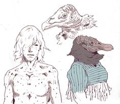 Turn de Cassette - Vulture people, insect people, whale creature,...