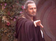 Qui-Gon Jinn Star Wars Food, Star Wars Art, Hobbit, Actor Liam Neeson, Infinity On High, Kane Wwe, Jedi Knight, The Phantom Menace, Side Profile
