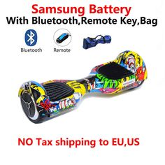 Samsung battery Bluetooth Remote Bag Smart Self-balancing Electric Scooter Two Wheels Electric Hoverboard ** This is an AliExpress affiliate pin.  Detailed information can be found on AliExpress website by clicking on the image