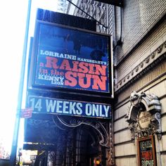 A Raisin in the Sun by Lorraine Hansberry starring Denzel Washington at the Barrymore Theatre on Broadway (Apr 3, 2015 - Jun 15, 2014)