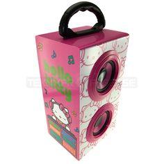 http://www.teknikproffset.se/Hemelektronik/Ljud--Bild/Hoegtalare--Tillbehoer/Traadbundna-hoegtalare/KitSound-Partyhogtalare-35mm-Hello-Kitty-2x3W-Batteri.htm