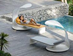 Chaise longue design pour un été zen