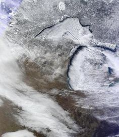 Michigan from space!  So cool!