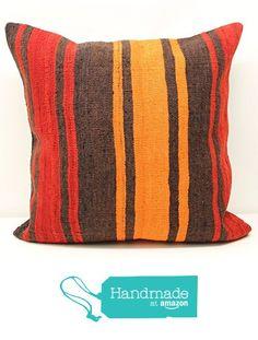 Big kilim pillow cover 24x24 inch (60x60 cm) Huge Kilim pillow cover Room Decor Rustic Pillow cover Throw Kilim Cushion Cover https://www.amazon.com/dp/B01M8HY7QF/ref=hnd_sw_r_pi_dp_IeoaybXAS4GCT #handmadeatamazon