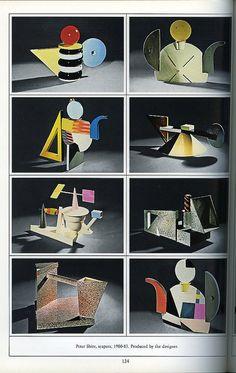 Peter Shire teapots 1980 - 83