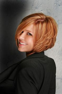 oh you know I love this color...love the cut, need more hair!!!