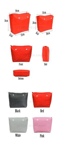 New Colors Obag Waterproof Inner Lining Zipper Pocket for Obag Lining Insert Super Advanced PU Leath Obag Brush, O Bag Mini, Pochette Diy, How To Make Purses, Purse Patterns, Black White Pink, Classic Mini, Leather Craft, Bag Making