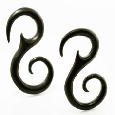 8 Gauge (3mm) - Tribal Spiral Horn Organic Hanger Plugs FreshTrends. $19.18. Lightweight and durable. Individually hand-carved, no two will ever be the same. Made from all natural, eco-conscious materials. Save 52%!