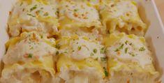 Recette : Rouleaux de lasagne aux crevettes Rice Recipes, Chicken Recipes, Sauce Crémeuse, What Recipe, Lasagna Rolls, Creamy Sauce, Pasta, Tasty Dishes, Coco