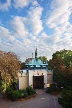 The Mirror Maze on Petřín Hill built in 1891 for the Jubilee Exhibition - Bludiště na Petříně