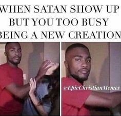 And I guess he is not reall the best how I thought 😉 I have better things to do 🙇🏼♀️ and not temped at all Church Memes, Church Humor, Catholic Memes, Funny Christian Memes, Christian Humor, Christian Life, Funny Single Memes, Funny Relatable Memes, Funny Quotes