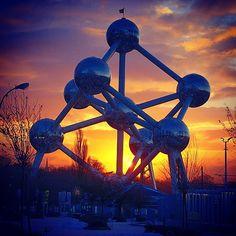 #Bruxelles #Brussels #winter #inverno #hiver #Belgio #Belgium #Belgique #Atomium