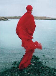 Tilda Swinton photographed by Tim Walker for W, August 2011. Stylist: Jacob Kjeldgaard.