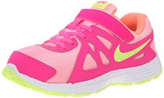 e979b1bc4f5 New Nike Girls Revolution 2 Athletic Shoe Pink Pow Lava 2... https