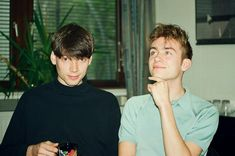 Damon Albarn & Alex James in 1993