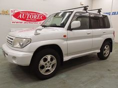 Japanese vehicles to the world: 2000 Mitsubishi Pajero IO PAERL PACKAGE 4WD for Bo...