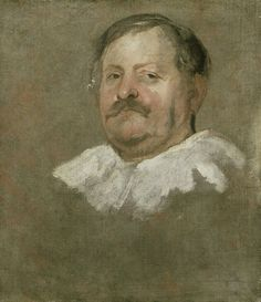Anthony van Dyck - Head of a bearded Man wearing a Falling Ruff - Ashmolean Museum