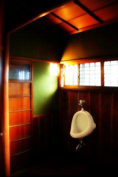 Japanese traditional bathroom