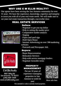 Considering Buying or Selling? We have the experience, knowledge, expertise & integrity to assist all of your Real Estate needs.