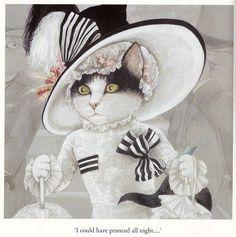 My Fair Lady, Movie Cats by Susan Herbert