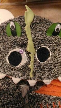 F & F remodeling ugly monster costume Monster Costumes, Dinosaur Costume, Remodeling