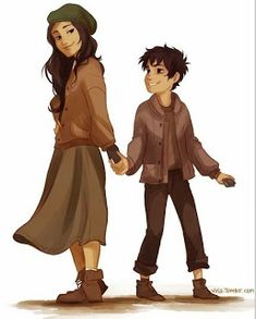 Bianca di Angelo and Nico di Angelo | Fictionfuneral.blogspot.co.uk | Percy Jackson & the Olympians by Rick Riordan