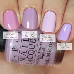 OPI Purple Palazzo Pants Comparison | Fall 2015 Venice Collection | Peachy Polish
