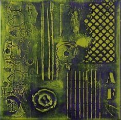 Antal Fulop  - City streets I.  canvas,  30x30cm