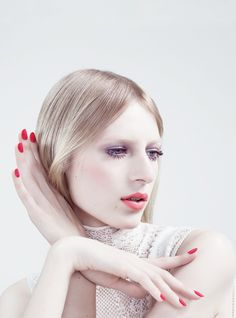 """""""Building Colour""""; Julia Nobis by Willy Vanderperre for Dior Magazine #9"""