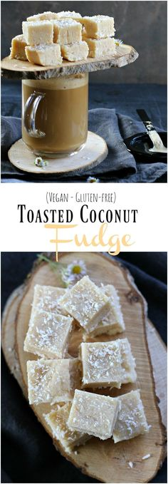 This mouthwatering Toasted Coconut Fudge takes only 10 minutes to make and will melt in your mouth.