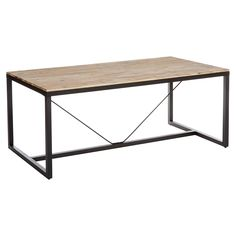 Table diner EDENA, 180 x 90 x 85 cm