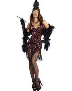 Dames Like Us Flapper Adult Womens Costume