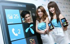 DTAC and HTC a beautiful partnership!