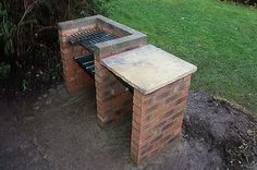 How to build a brick barbecue - Who doesn't like a great burger right off the grill. Well here is a fantastic step by step tutorial on how to build a brick barbecue of your own. No need to make that expensive trip to the store to enjoy your next outdoor gathering.