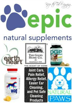 Keep the Tail Wagging's Favorite Supplement and Pet Safe Products