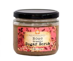 Let rose essential oil and organic rose buds refresh your skin with this luxurious organic sugar scrub Exfoliation is the key to glowing, smooth, healthy skin. A regular routine of exfoliation helps s